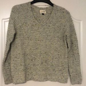 Marled GRAY sweater from TARGET